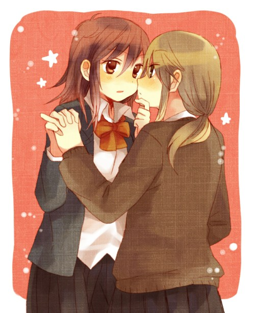 A cute yuri couple for you!