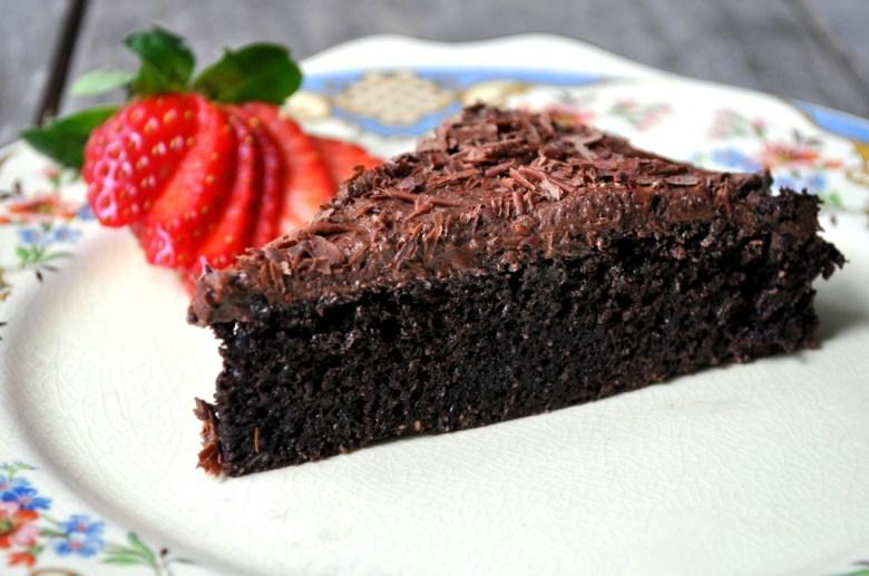 Paleo Chocolate Web Cake