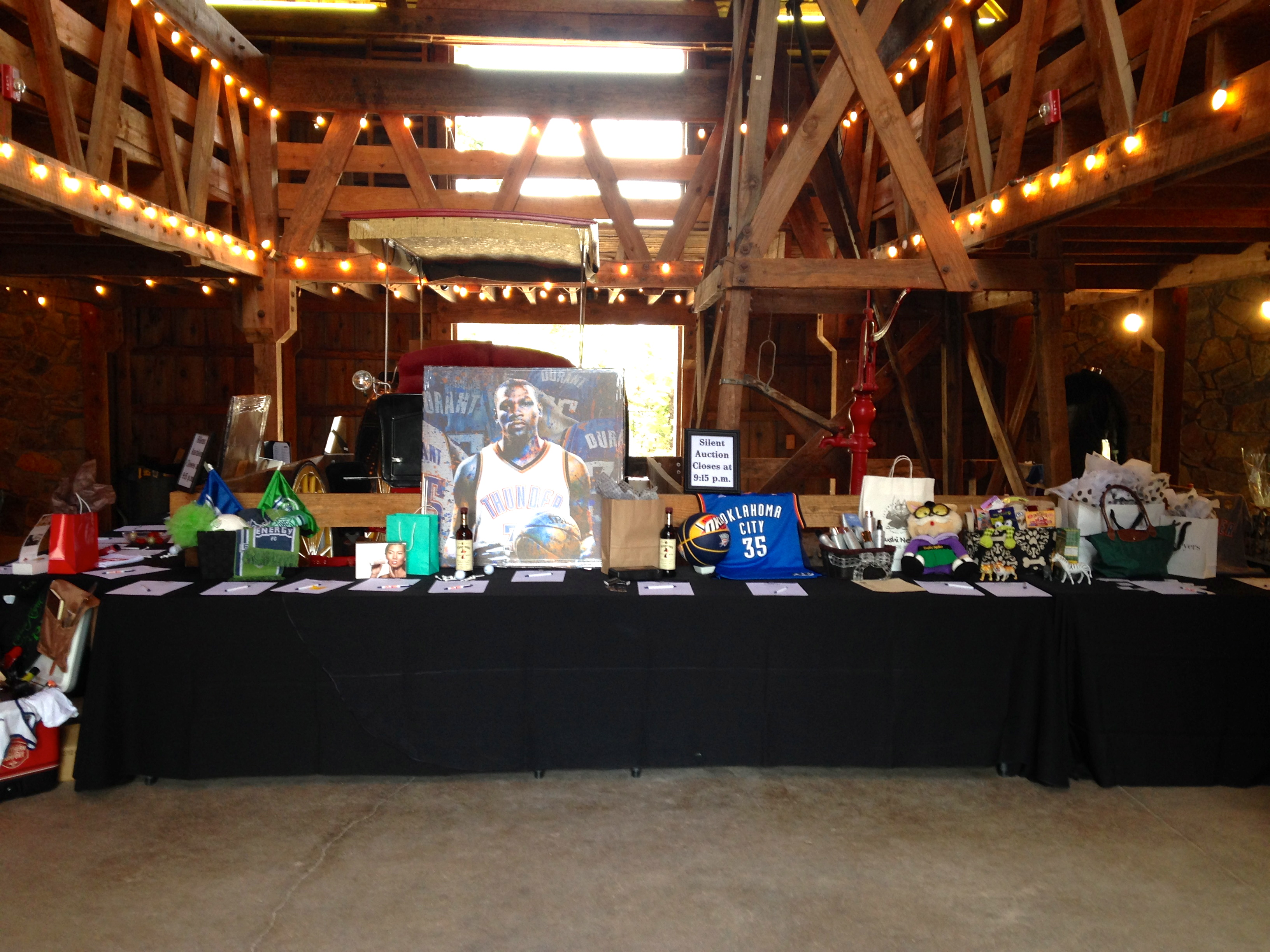 silent auctions for non-profit event planning