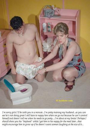 diaper punishment captions