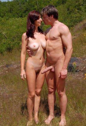 naturist beach erection