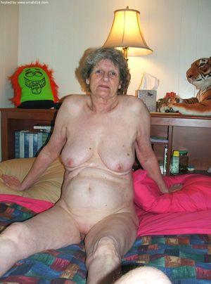 grey haired grannies in panties