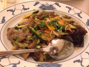 """Mr. Chow""'s Beef Chop Suey"