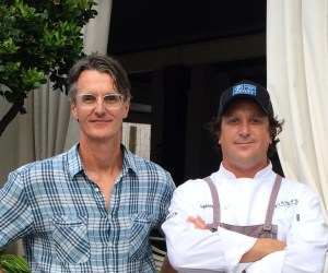 Owner Johnny Fisher and Chef Bill Briand