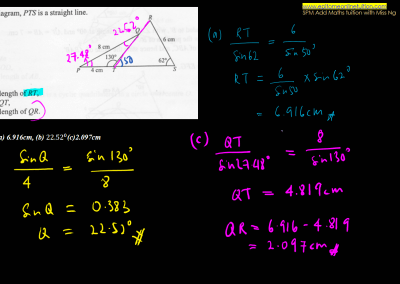 Chapter 10 – Solutions of Triangle