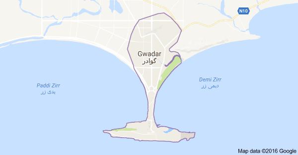 Gwadar Maps 2016