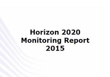 Horizon 2020 Monitoring Report 2015