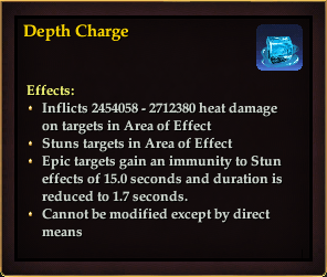 Effect - Depth Charge