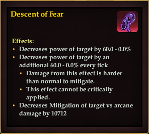 Effect - Descent of Fear