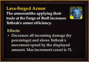 Effect - Lava-Forged Armor