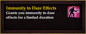 Effect - Immunity to Daze Effects