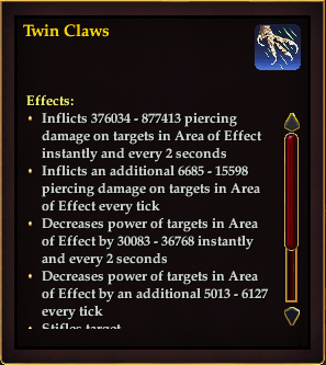 Effect - Twin Claws