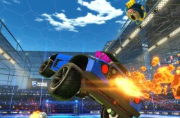 Sunset Overdrive items in Rocket League