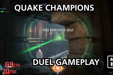 Quake Champions Duel Mode Gameplay