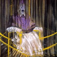 """Tracing the Eraserhead Esthetic: Bacon, Francis - """"Study after Velazquez's Portrait of Pope Innocent X"""""""