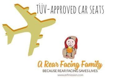 TÜV-approved Child Car Seats