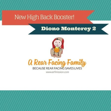 We love the Diono Monterey 2 | A Rear Facing Family
