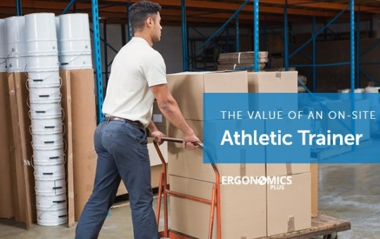 5 Ways an Athletic Trainer Adds Value to Your Health and Safety Team