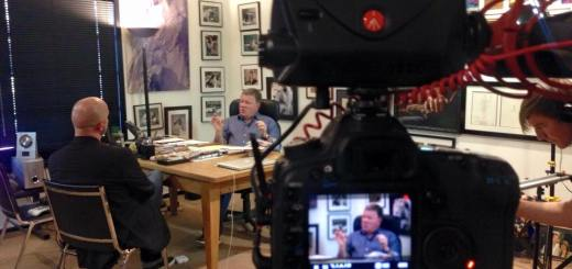 Jeremy Snead interviewing William Shatner for Unlocked