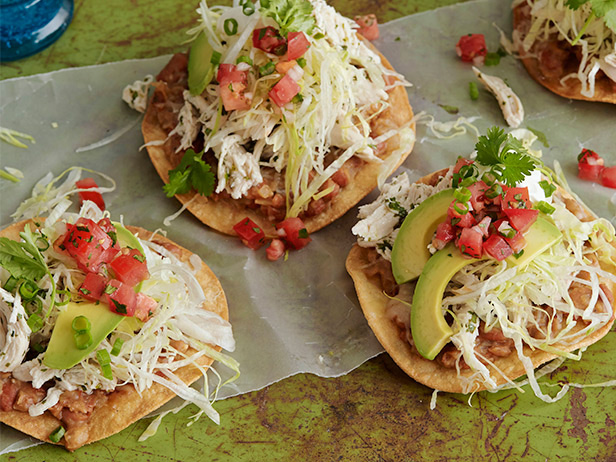 chicken tostada
