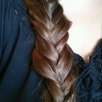 Large Fanned Fishtail Braid