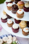 Cupcake spread dessert table wedding Tahoe City CA