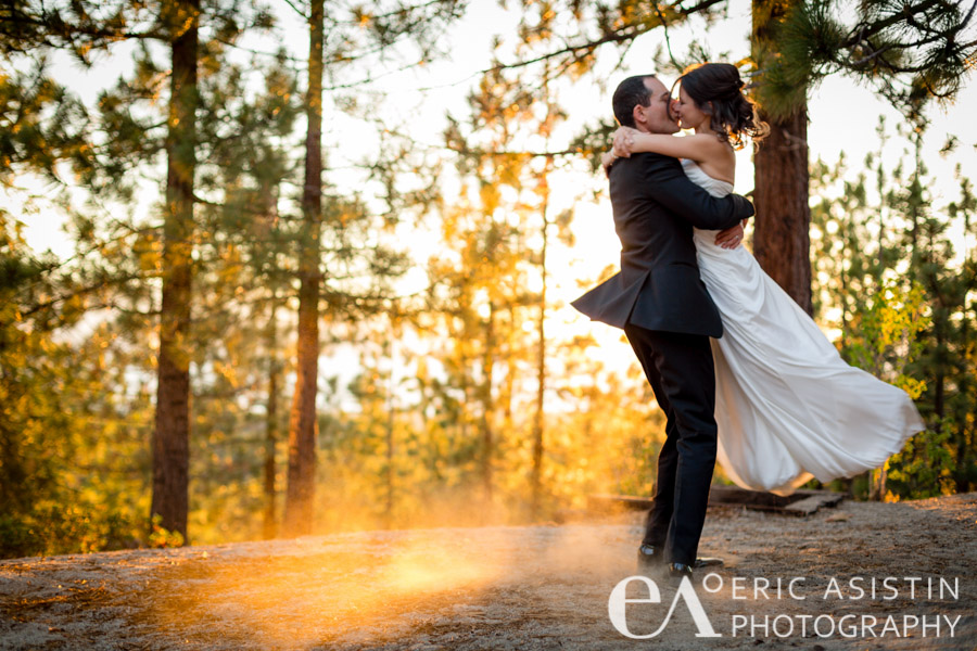 Spin the bride during golden hour, Ines & Todd.