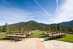 Wedding venue overlook at Martis Camp Lodge, Truckee CA