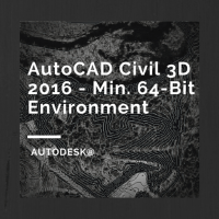 AutoCAD Civil 3D 2016 System Requirements