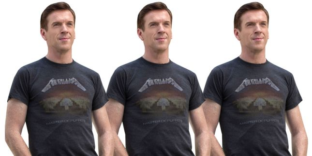 damien-lewis-elle-billions-metallica-tshirt