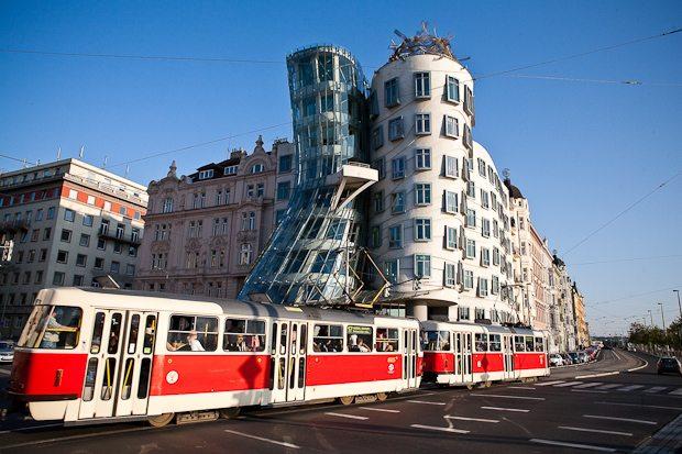 The Dancing House. Prague, Czech Republic.