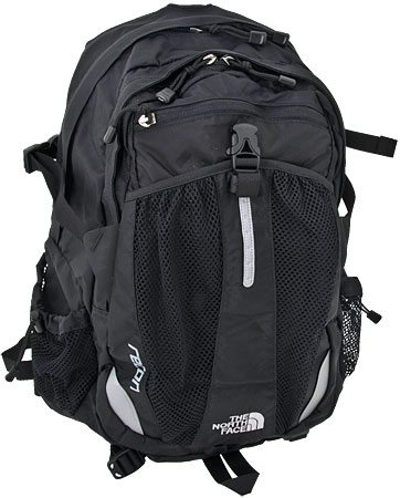 The North Face Recon Backpack. What I brought with me during my trip.