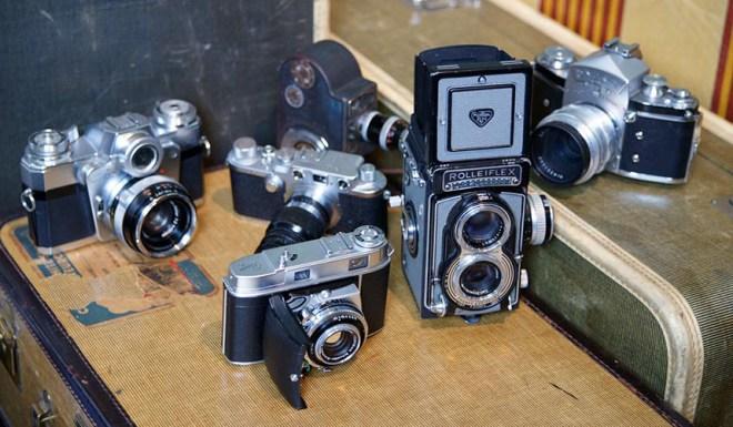 Vivian Maier's cameras