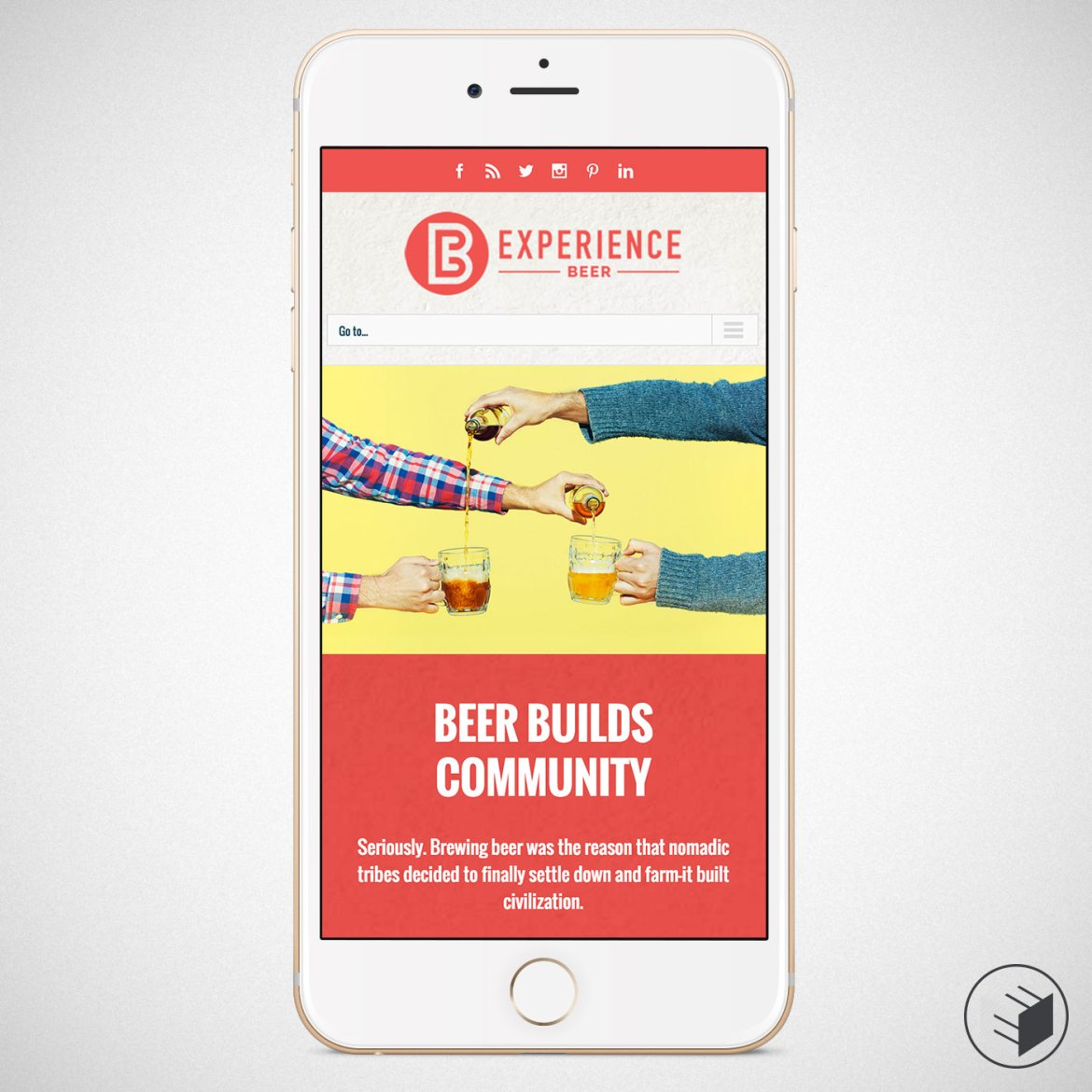 EXPERIENCE BEER WEBSITE