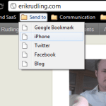 myPhoneDesktop using the bookmarklet screenshot