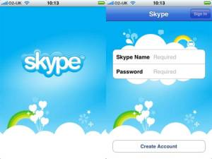 Log onto Skype using username and password, something that you don't have to do in Viber.