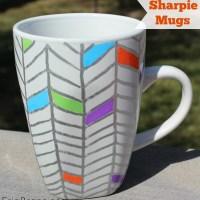 DIY Sharpie Mugs and a tea party