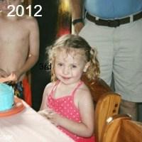 Happy 5th Birthday Audrey!