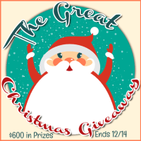 The Great Christmas Giveaway - $25 PayPal Cash (and $600 total in prizes!)