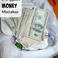 5 Biggest Money Mistakes