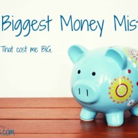My Biggest Money Mistake Ever