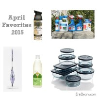 April 2015 Favorite Things