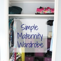 Simple Maternity Wardrobe