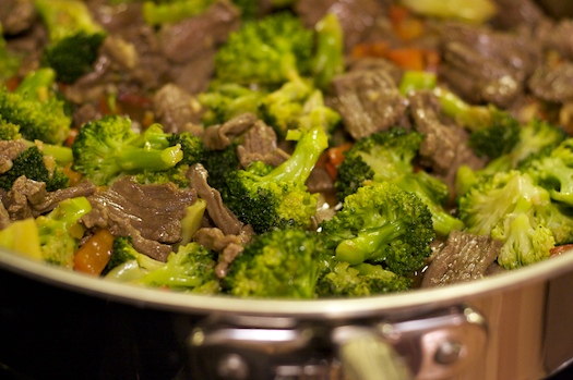 Beef and Broccoli: The Marathon