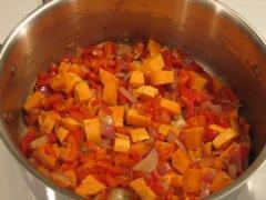 Add the Sweet Potato
