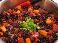 Add the Beans & Jalapeño