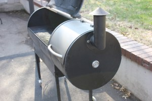Have Traeger, will travel. Dustin brought his smoker out to Kirkwood to make a smoked feast for the family.