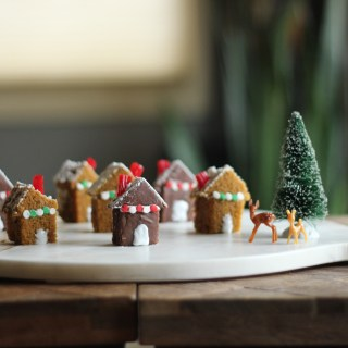 Little Gingerbread Cake Village