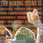 The Boring Store–Chicago's Greatest Window Signage?