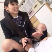 【エッチ動画】 【アダルト動画】女先輩にHの練習と言ってすまたしてたら!!!
